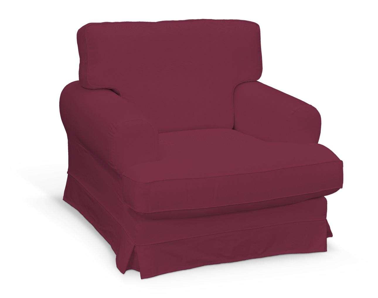 Pokrowiec na fotel Ekeskog w kolekcji Cotton Panama, tkanina: 702-32