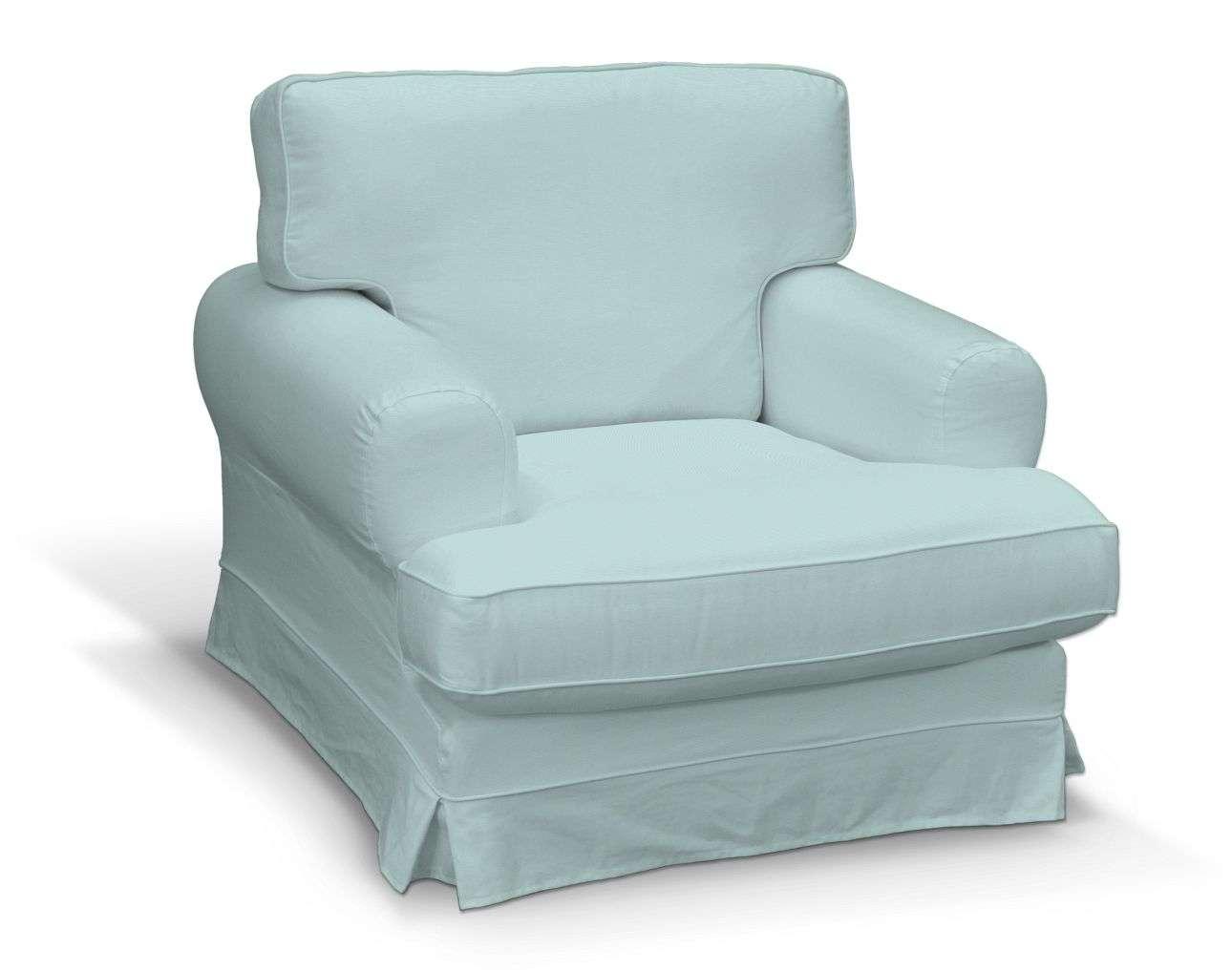 Pokrowiec na fotel Ekeskog w kolekcji Cotton Panama, tkanina: 702-10