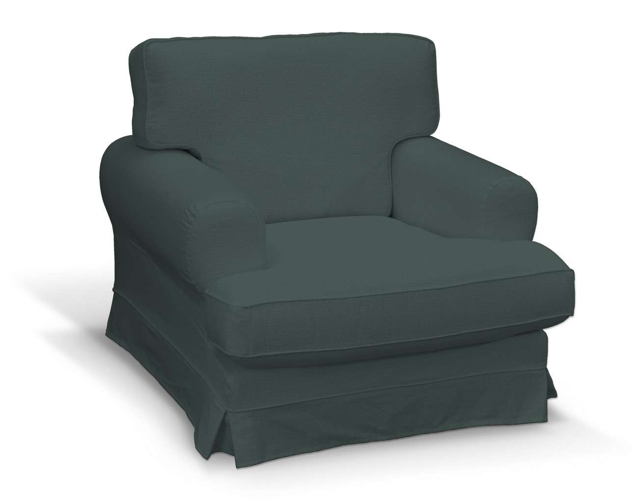 Pokrowiec na fotel Ekeskog w kolekcji Ingrid, tkanina: 705-36