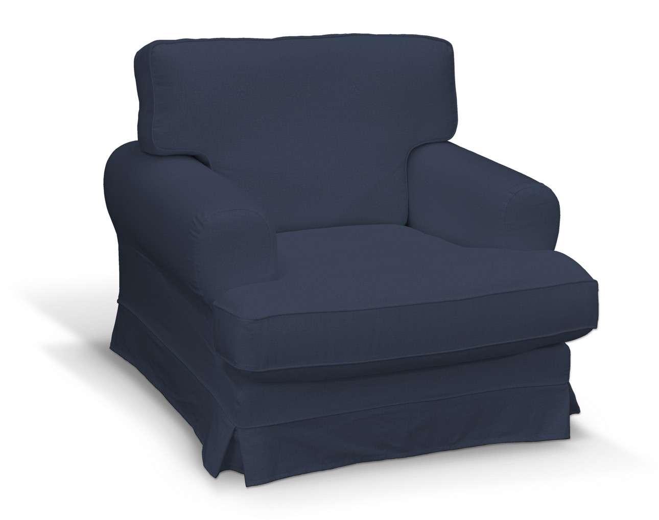Pokrowiec na fotel Ekeskog w kolekcji Ingrid, tkanina: 705-39