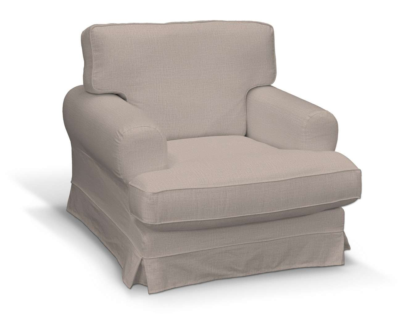 Pokrowiec na fotel Ekeskog w kolekcji Living II, tkanina: 160-85