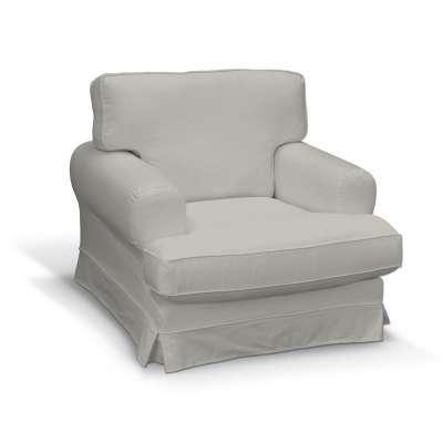 Pokrowiec na fotel Ekeskog 161-84 srebrno-szara jodełka Kolekcja Bergen