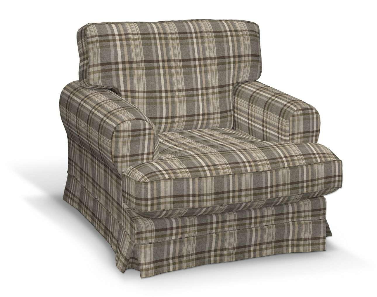 Pokrowiec na fotel Ekeskog w kolekcji Edinburgh, tkanina: 703-17