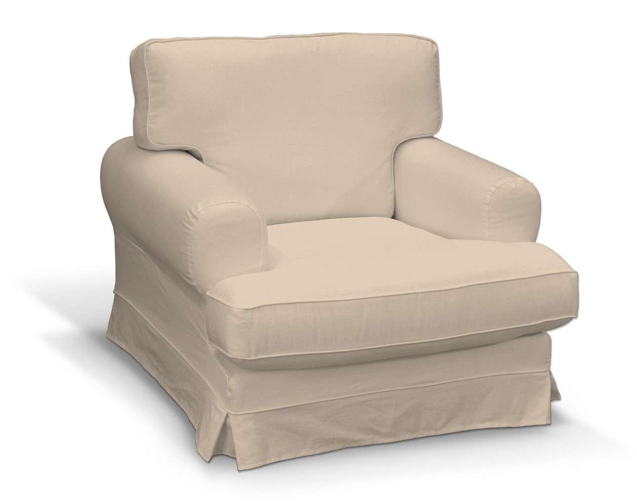 Pokrowiec na fotel Ekeskog w kolekcji Living, tkanina: 160-61