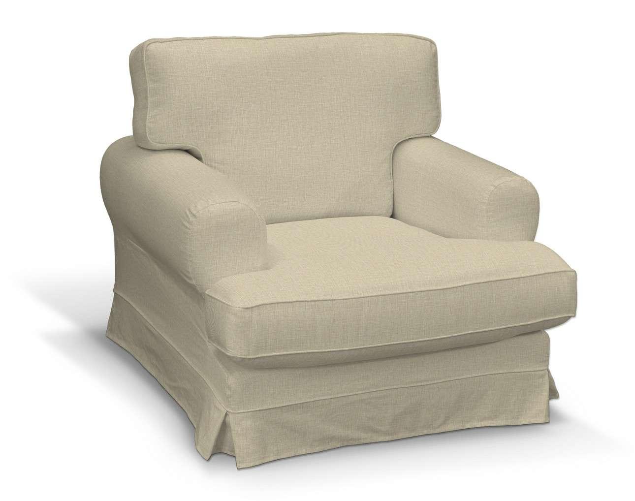 Pokrowiec na fotel Ekeskog w kolekcji Living, tkanina: 161-45