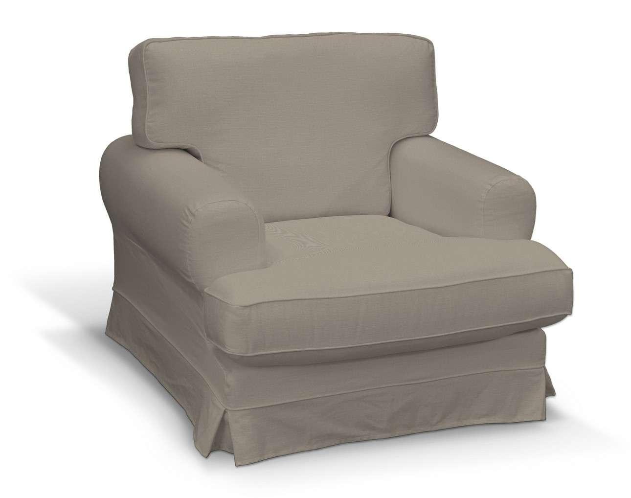 Pokrowiec na fotel Ekeskog w kolekcji Living, tkanina: 161-53