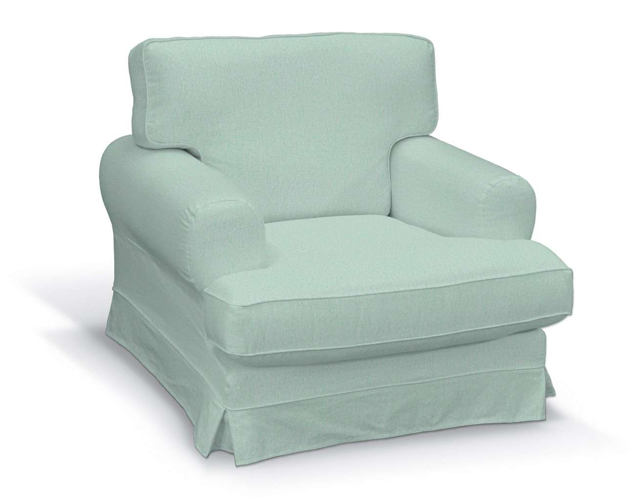 Pokrowiec na fotel Ekeskog w kolekcji Living, tkanina: 161-61