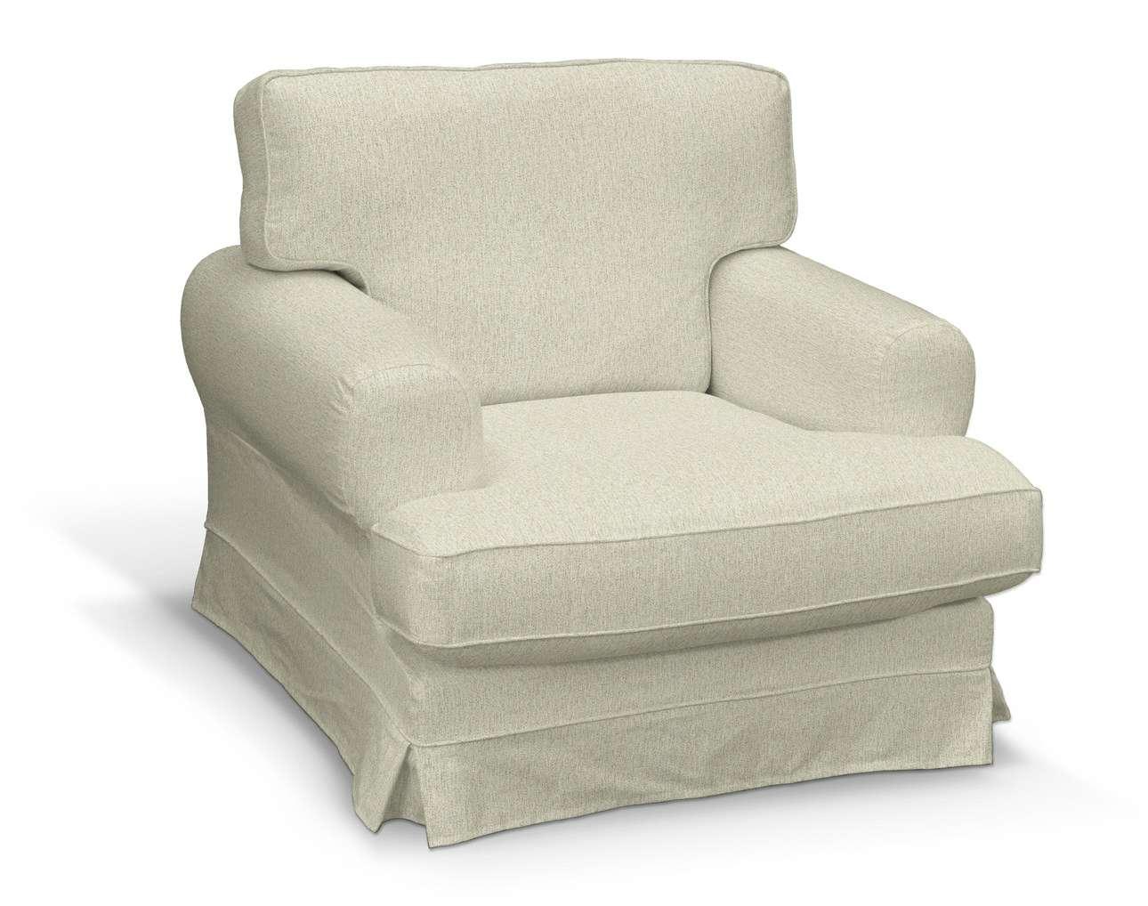 Pokrowiec na fotel Ekeskog w kolekcji Living, tkanina: 161-62