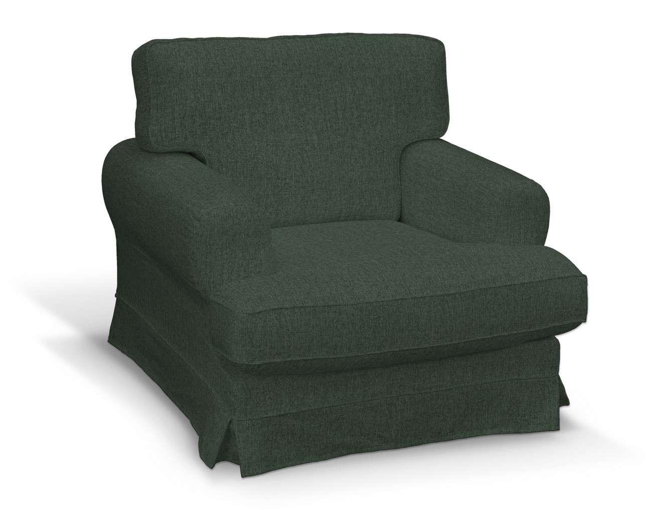 Pokrowiec na fotel Ekeskog w kolekcji City, tkanina: 704-81