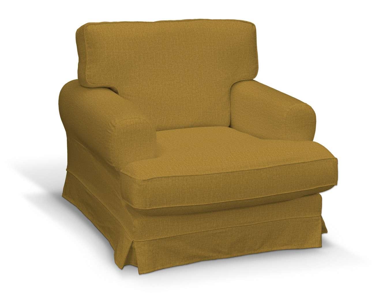 Pokrowiec na fotel Ekeskog w kolekcji City, tkanina: 704-82