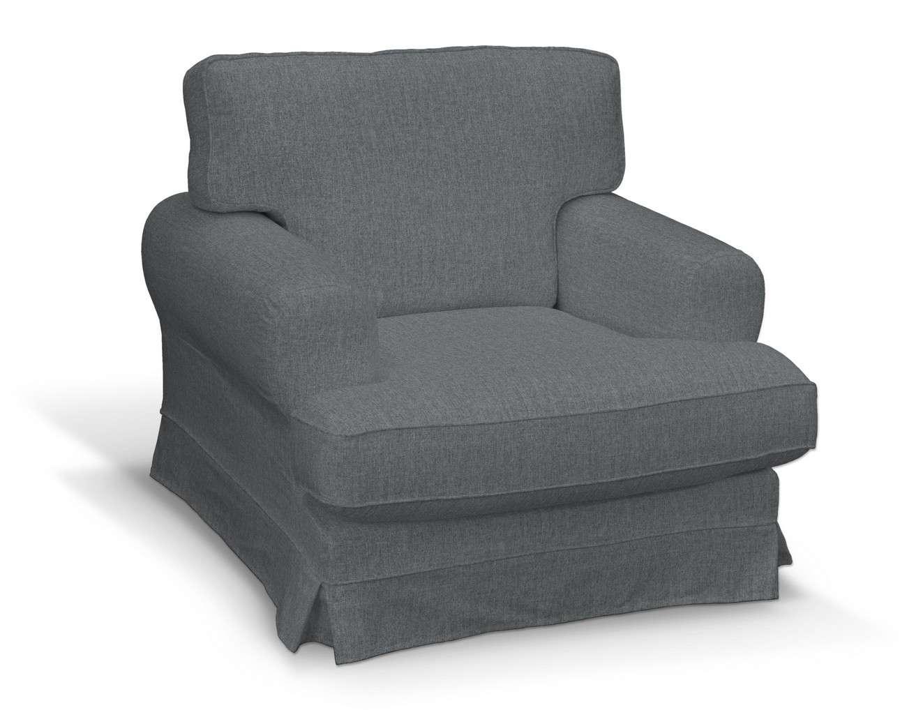 Pokrowiec na fotel Ekeskog w kolekcji City, tkanina: 704-86