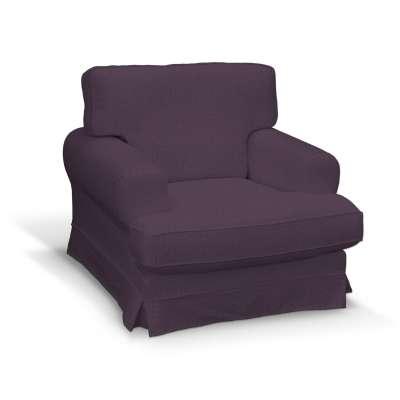 Pokrowiec na fotel Ekeskog 161-67 fioletowy szenil Kolekcja Living