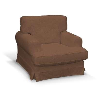 Pokrowiec na fotel Ekeskog 161-65 brunatny szenil Kolekcja Living