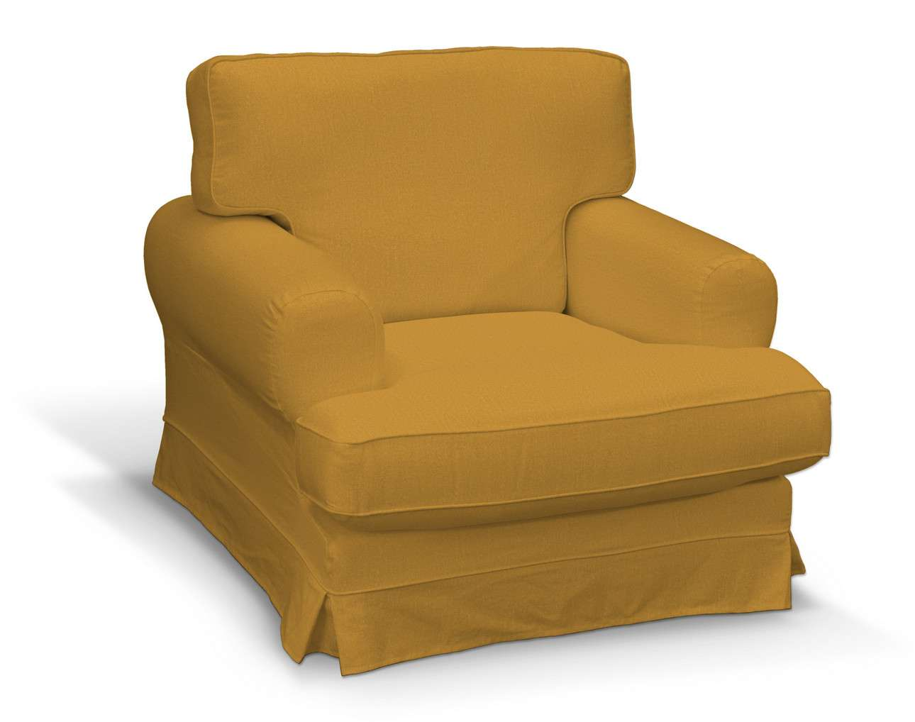 Pokrowiec na fotel Ekeskog w kolekcji Living, tkanina: 161-64