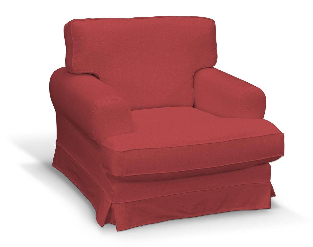 Pokrowiec na fotel Ekeskog w kolekcji Living, tkanina: 161-56