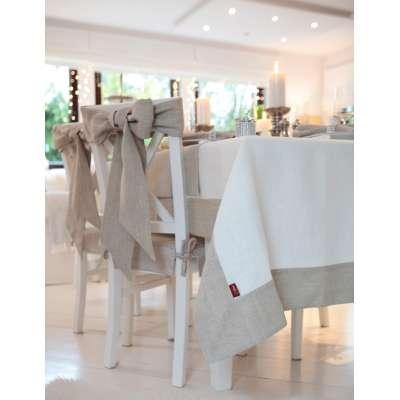Įvairios staltiesės 392-04 baltai kreminė Kolekcija Linen