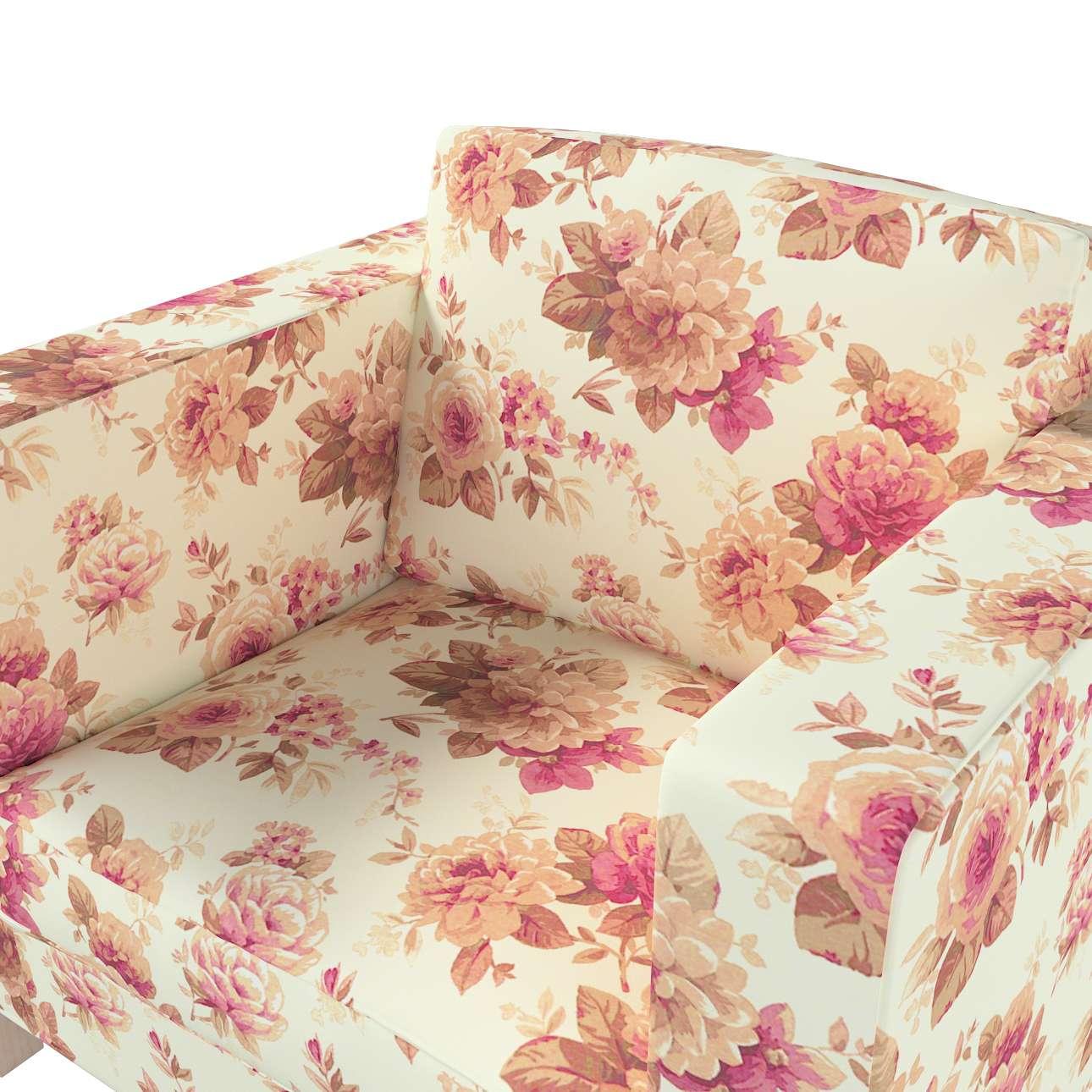 Karlanda päällinen nojatuoli, lyhyt mallistosta Londres , Kangas: 141-06