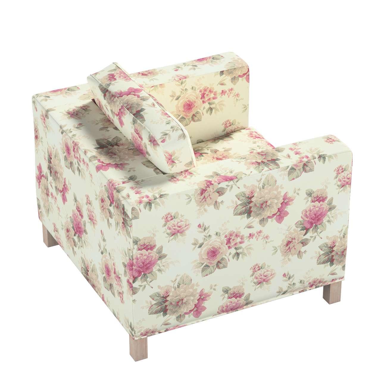 Pokrowiec na fotel Karlanda, krótki w kolekcji Londres, tkanina: 141-07