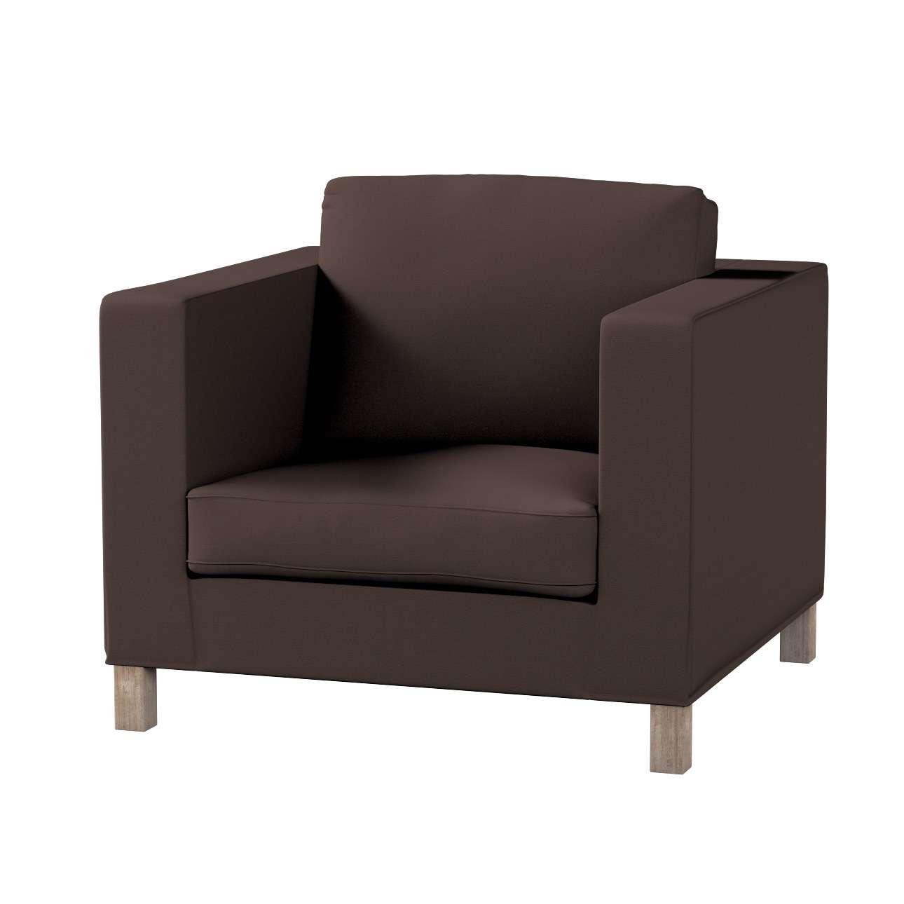 Potah na křesko IKEA Karlanda, krátký v kolekci Cotton Panama, látka: 702-03