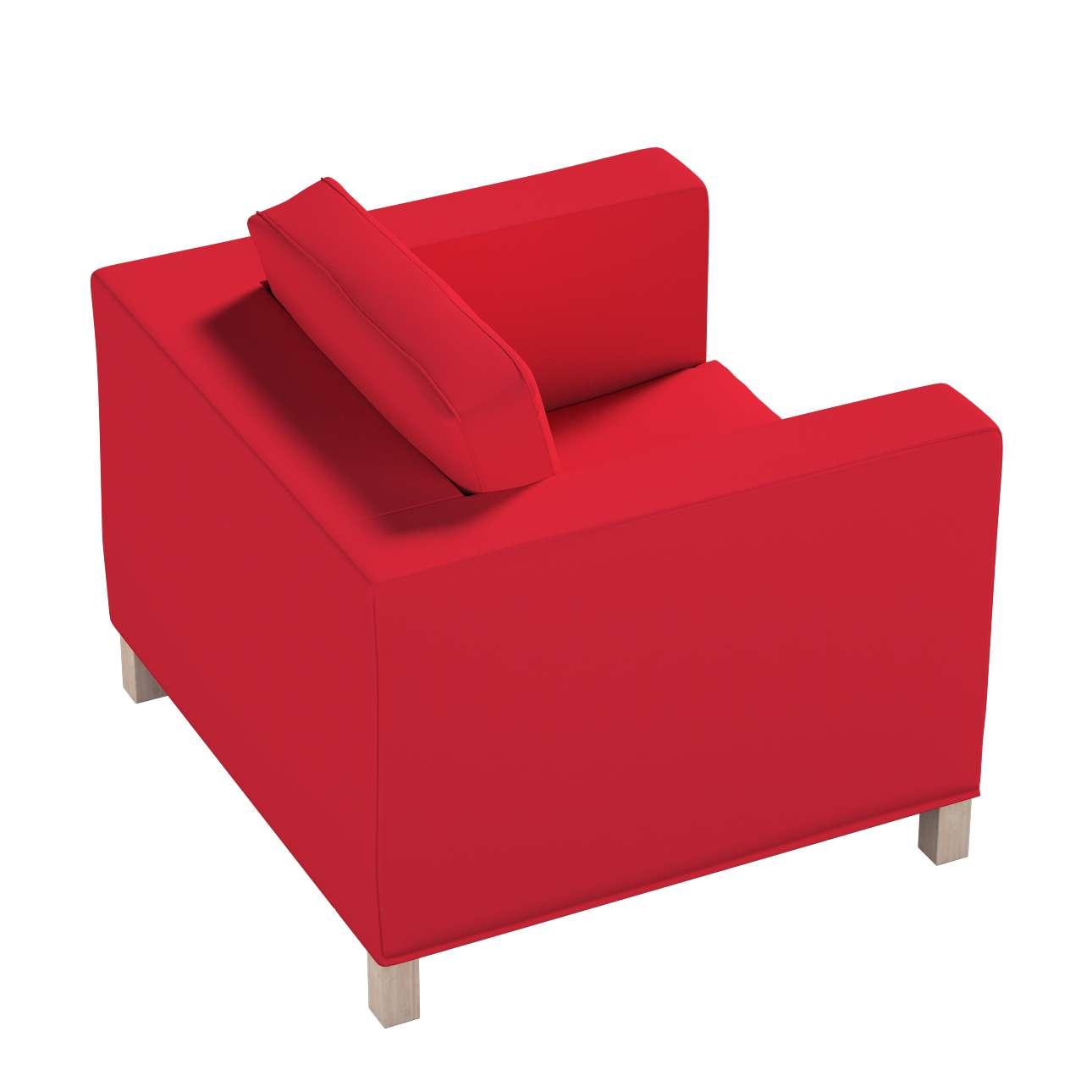Potah na křesko IKEA Karlanda, krátký v kolekci Cotton Panama, látka: 702-04