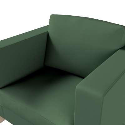 Potah na křesko IKEA Karlanda, krátký v kolekci Cotton Panama, látka: 702-06