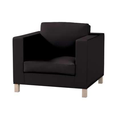 Pokrowiec na fotel Karlanda, krótki w kolekcji Cotton Panama, tkanina: 702-08