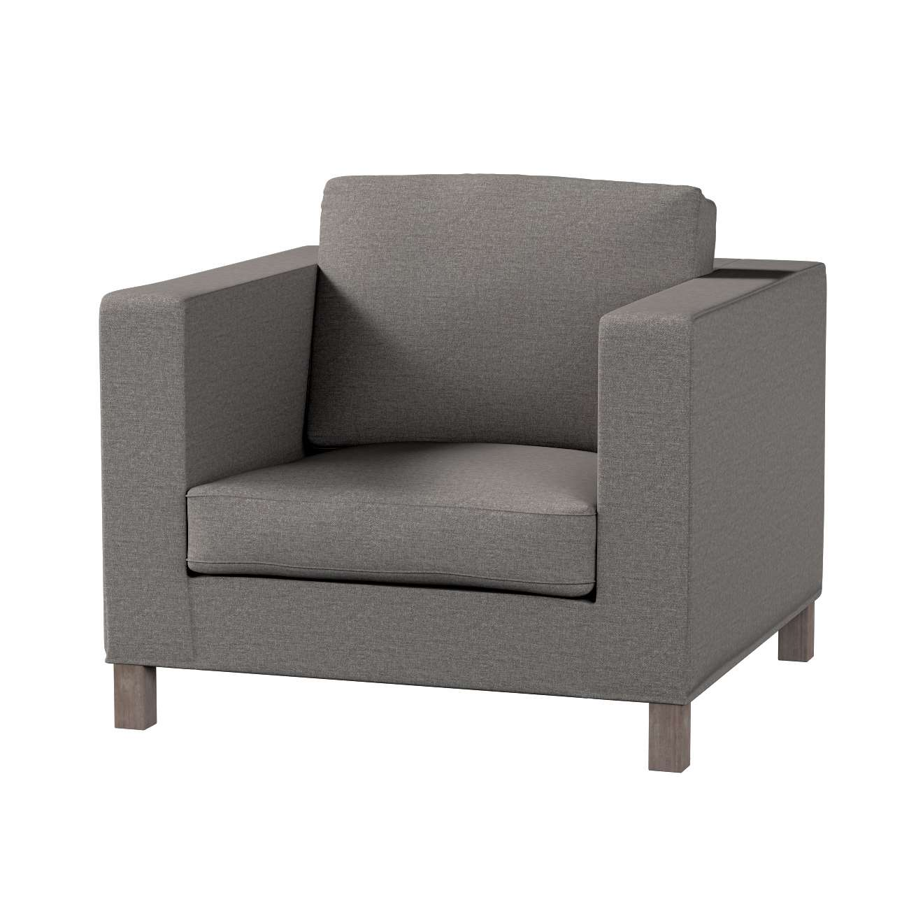 Pokrowiec na fotel Karlanda, krótki fotel Karlanda w kolekcji Edinburgh, tkanina: 115-77