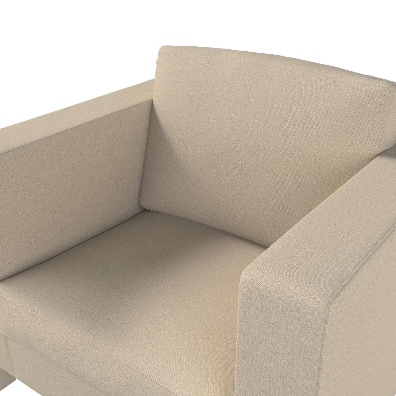 Pokrowiec na fotel Karlanda, krótki w kolekcji Edinburgh, tkanina: 115-78