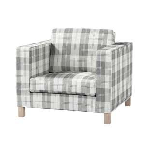 Pokrowiec na fotel Karlanda, krótki fotel Karlanda w kolekcji Edinburgh, tkanina: 115-79