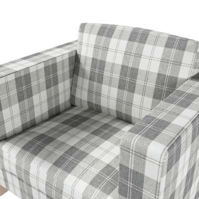 Pokrowiec na fotel Karlanda, krótki w kolekcji Edinburgh, tkanina: 115-79