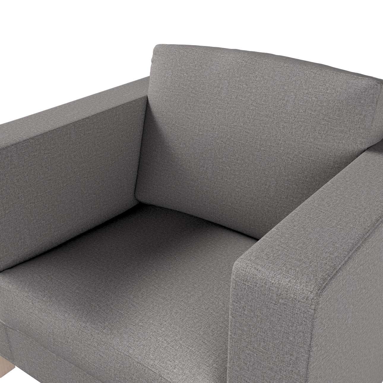 Pokrowiec na fotel Karlanda, krótki w kolekcji Edinburgh, tkanina: 115-81