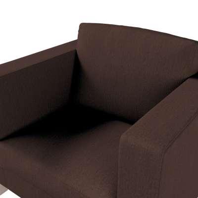 Pokrowiec na fotel Karlanda, krótki w kolekcji Chenille, tkanina: 702-18