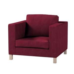 Pokrowiec na fotel Karlanda, krótki fotel Karlanda w kolekcji Chenille, tkanina: 702-19