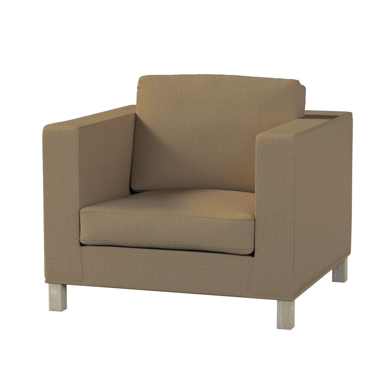Pokrowiec na fotel Karlanda, krótki fotel Karlanda w kolekcji Chenille, tkanina: 702-21