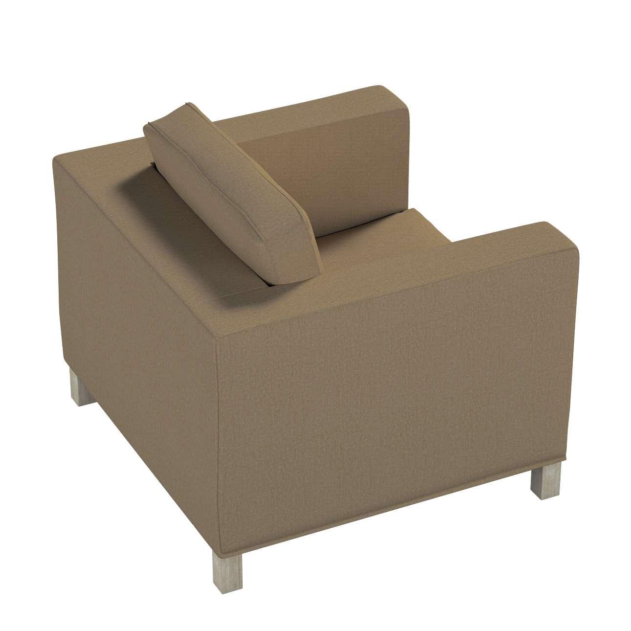 Potah na křesko IKEA Karlanda, krátký v kolekci Chenille, látka: 702-21