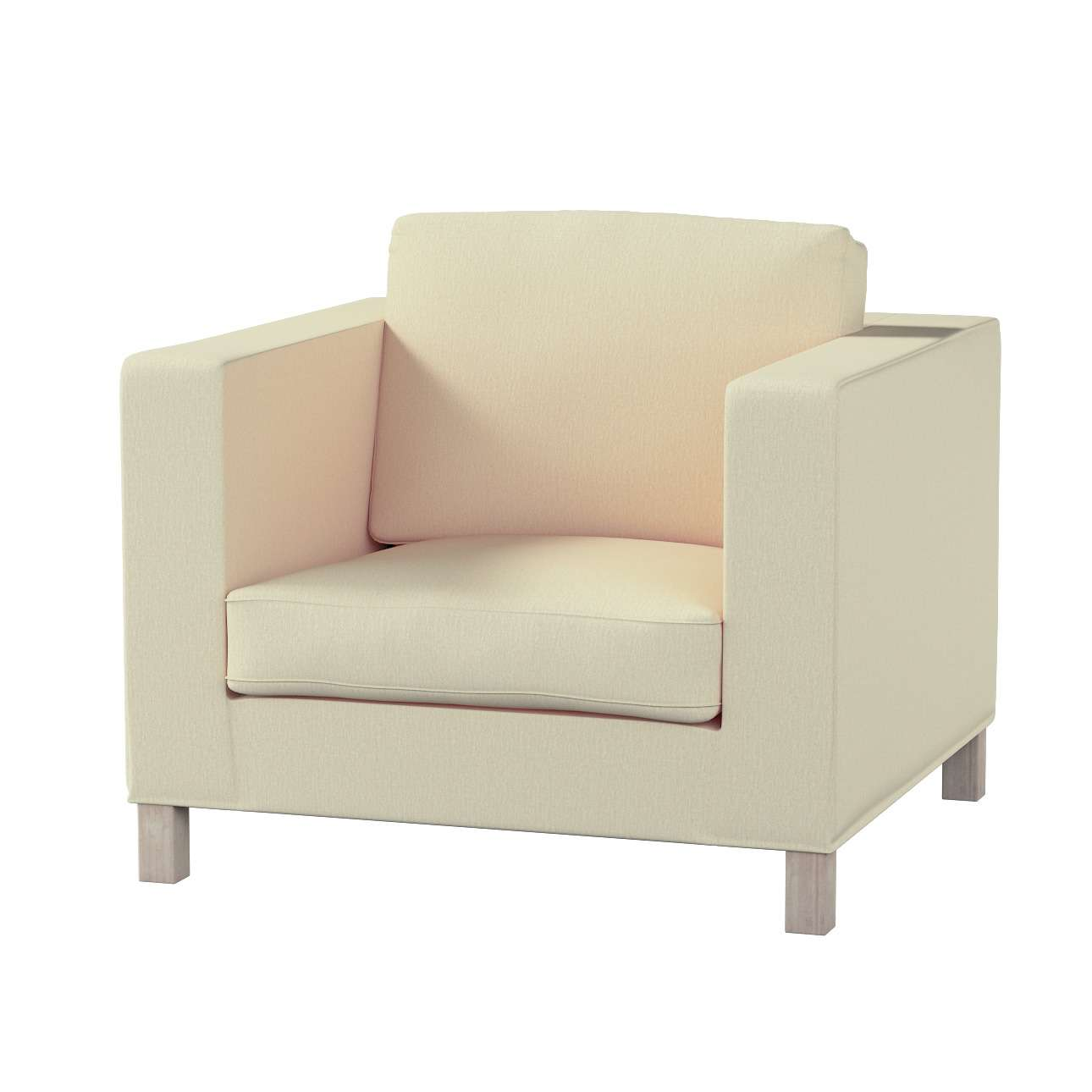 Pokrowiec na fotel Karlanda, krótki fotel Karlanda w kolekcji Chenille, tkanina: 702-22