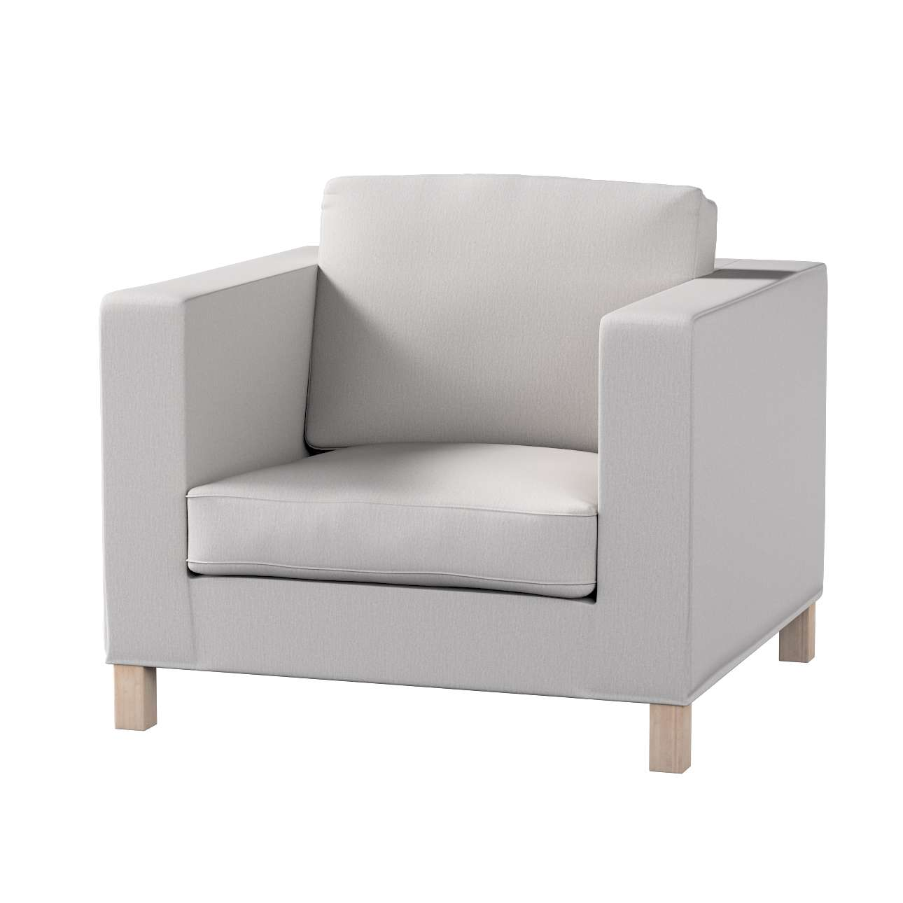 Pokrowiec na fotel Karlanda, krótki fotel Karlanda w kolekcji Chenille, tkanina: 702-23