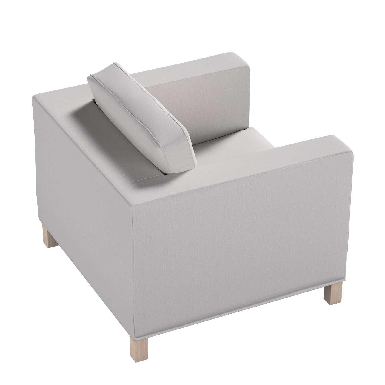Potah na křesko IKEA Karlanda, krátký v kolekci Chenille, látka: 702-23