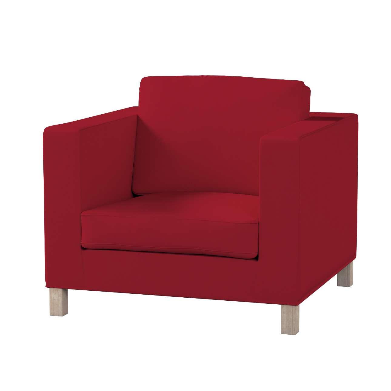Potah na křesko IKEA Karlanda, krátký v kolekci Chenille, látka: 702-24