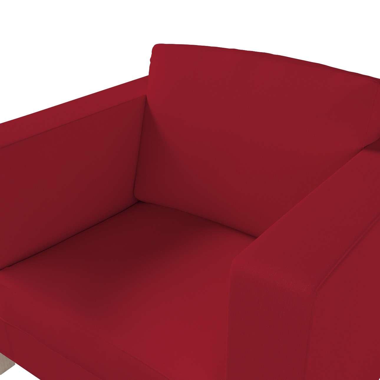 Pokrowiec na fotel Karlanda, krótki w kolekcji Chenille, tkanina: 702-24