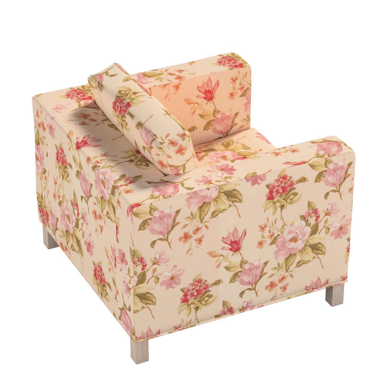 Pokrowiec na fotel Karlanda, krótki w kolekcji Londres, tkanina: 123-05