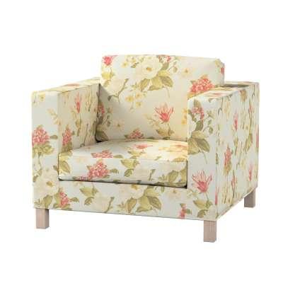 Pokrowiec na fotel Karlanda, krótki w kolekcji Londres, tkanina: 123-65