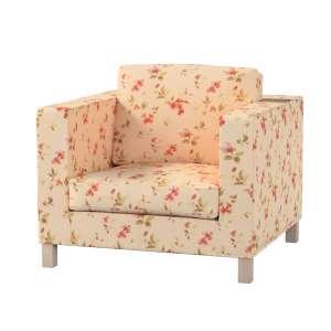 Pokrowiec na fotel Karlanda, krótki fotel Karlanda w kolekcji Londres, tkanina: 124-05