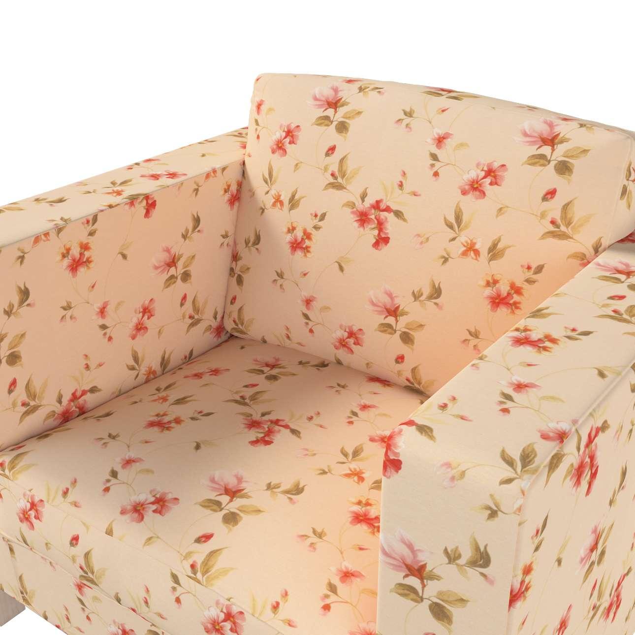 Karlanda fotelhuzat rövid a kollekcióból Londres Bútorszövet, Dekoranyag: 124-05