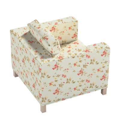 Pokrowiec na fotel Karlanda, krótki w kolekcji Londres, tkanina: 124-65