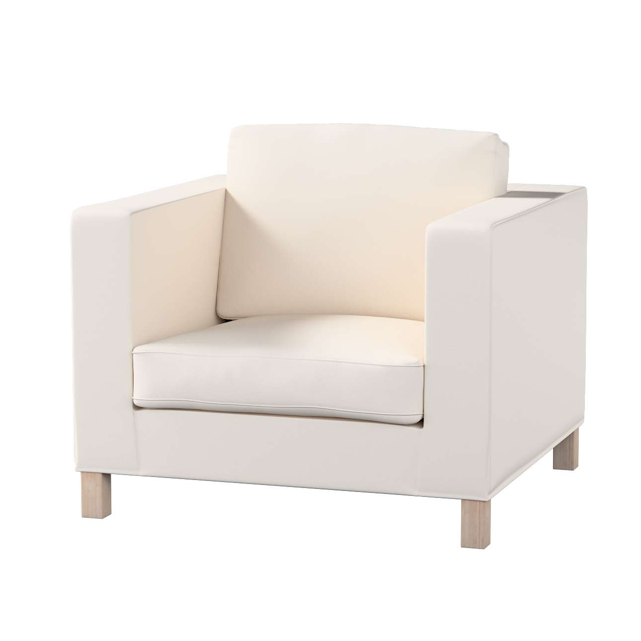 Pokrowiec na fotel Karlanda, krótki fotel Karlanda w kolekcji Etna , tkanina: 705-01