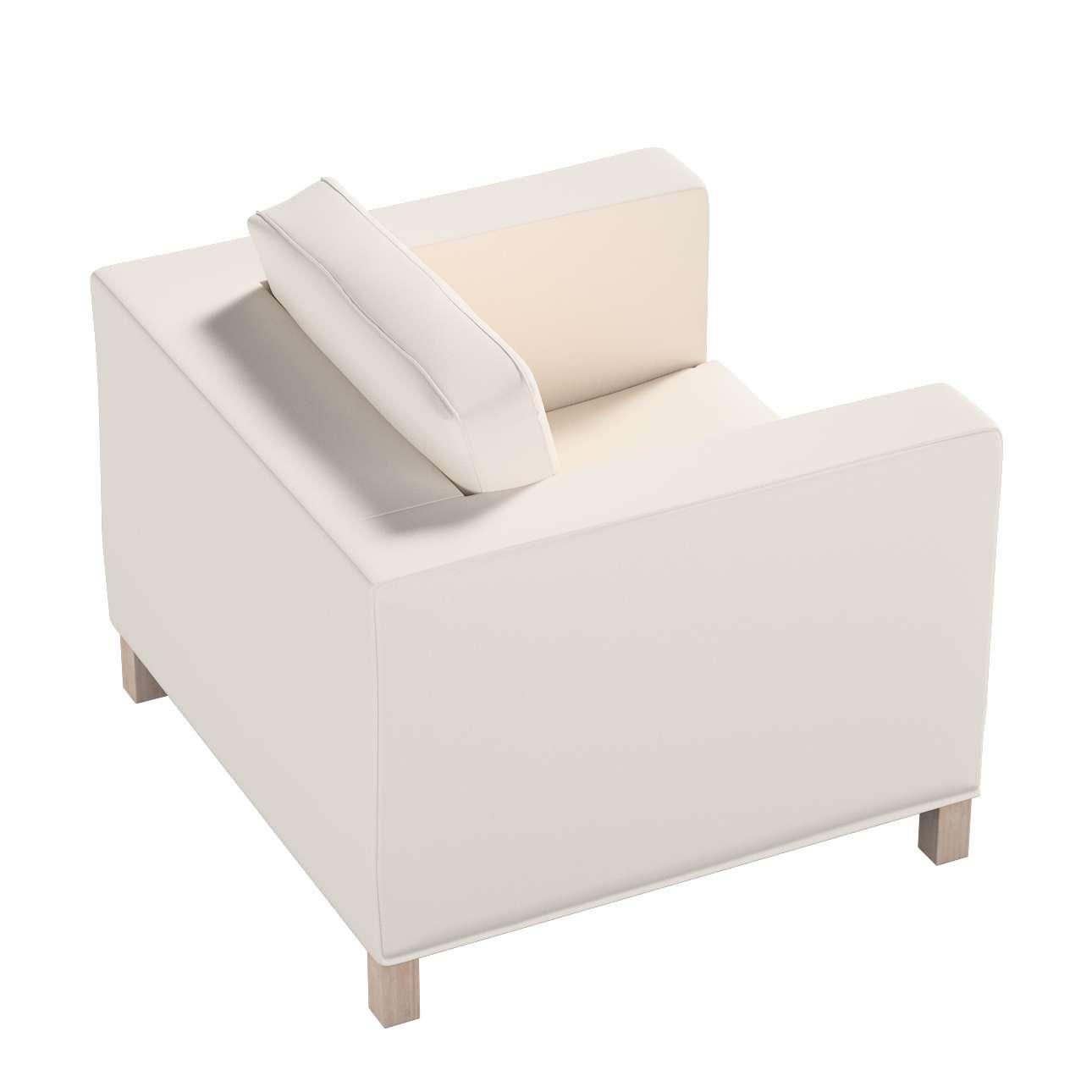 Pokrowiec na fotel Karlanda, krótki w kolekcji Etna, tkanina: 705-01
