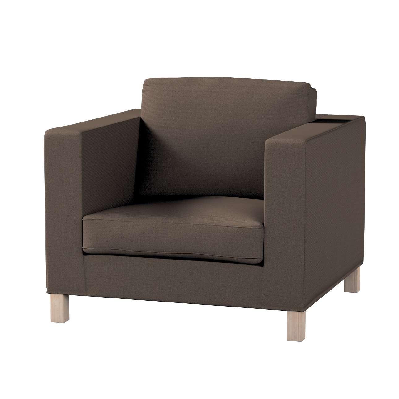 Pokrowiec na fotel Karlanda, krótki w kolekcji Etna , tkanina: 705-08