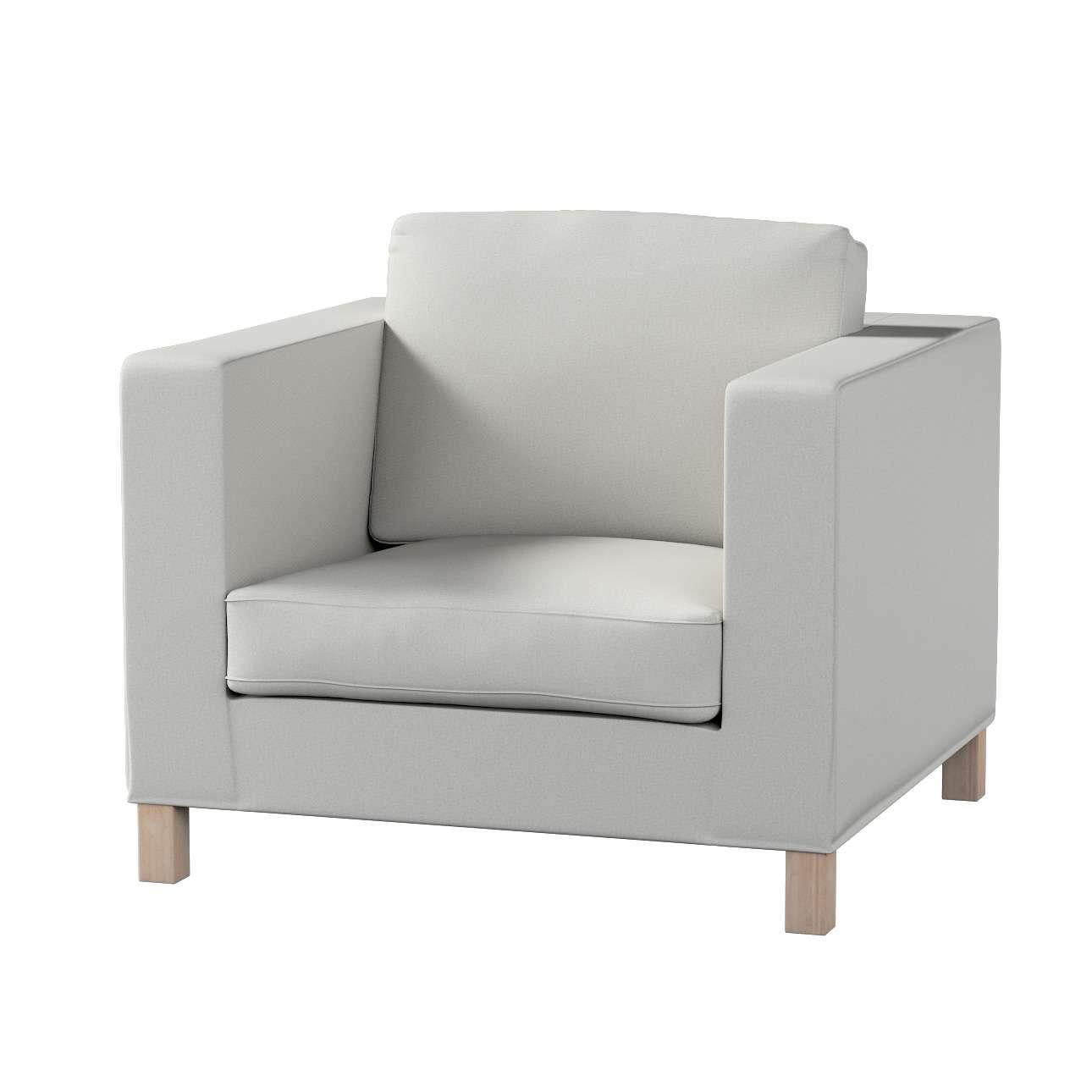Pokrowiec na fotel Karlanda, krótki fotel Karlanda w kolekcji Etna , tkanina: 705-90