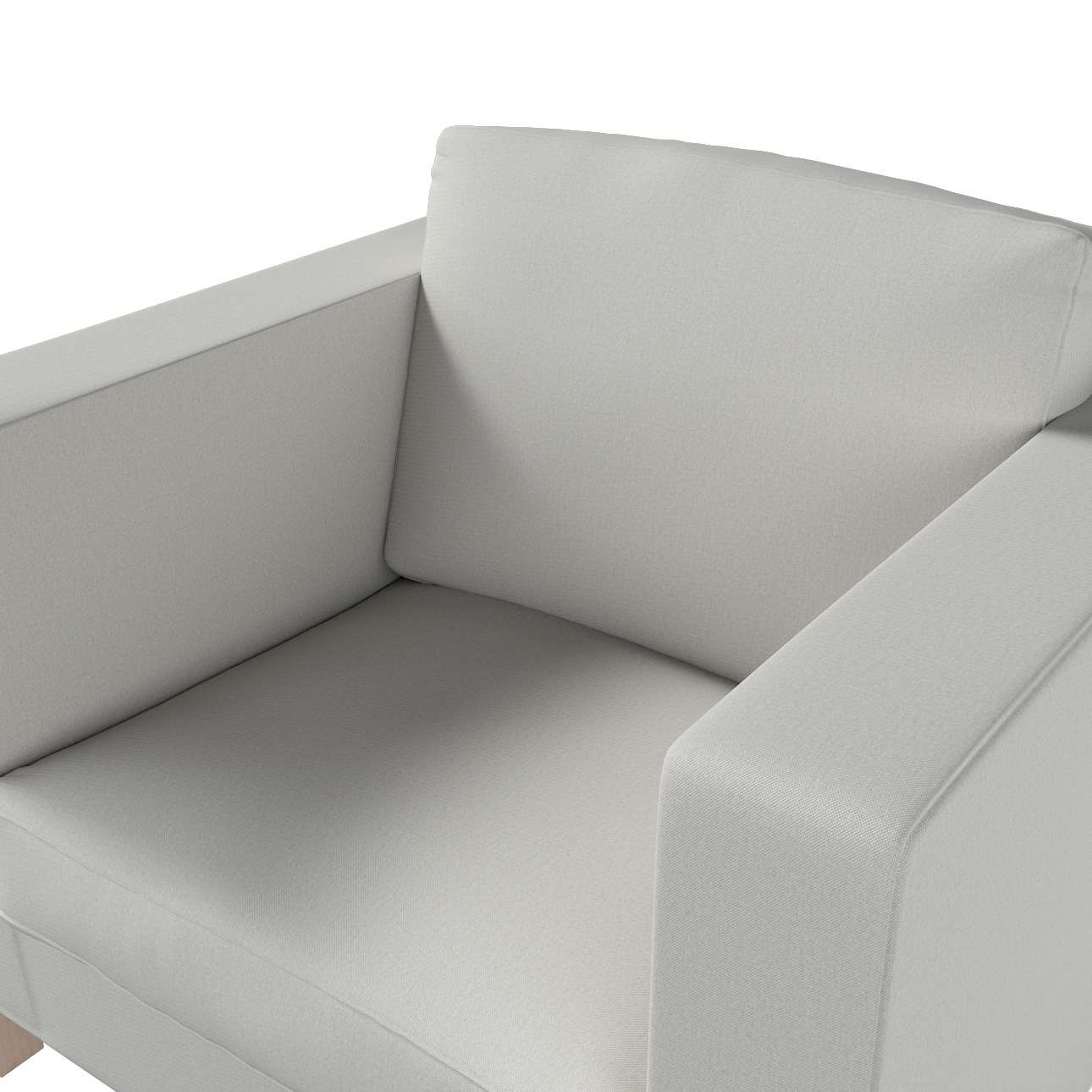 Pokrowiec na fotel Karlanda, krótki w kolekcji Etna, tkanina: 705-90